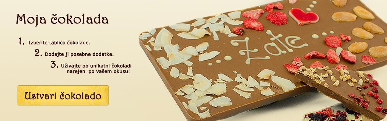 Izvirna darila in čokoladna torta za rojstni dan