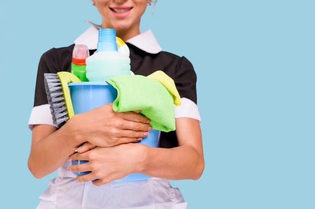 Opremo za čiščenje je treba pozorno izbrati