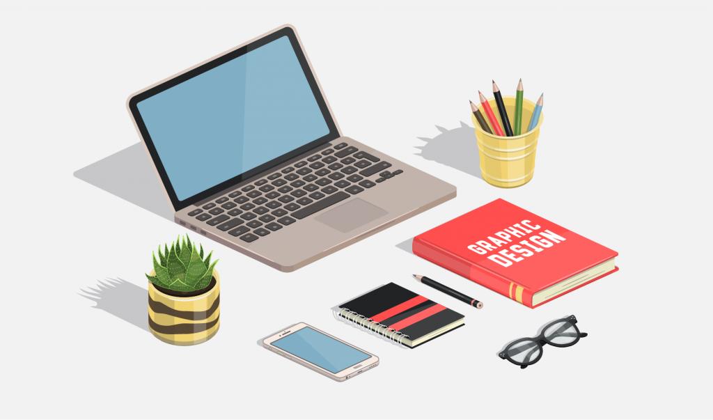 Grafično oblikovanje spletnih strani in tiskovin